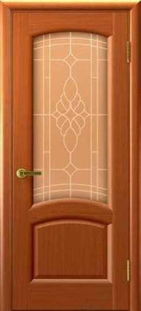 Двери рондо цвет светлая анегра